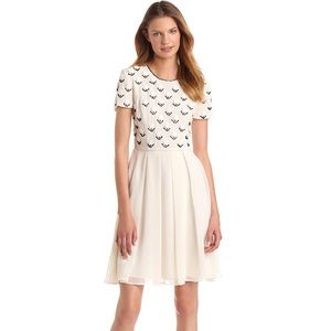 French Connection Geo Daisy Dress Women's 6
